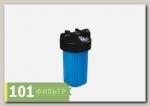 Корпус фильтра B897-BK1-PR (корпус ВВ10 синий, вход 1, сбр.давл.), Райфил