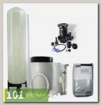 Умягчитель воды 08x17 (0,3-0,5 м3/час, ручной клапан Runxin, смола Lewatit S1567) в сборе