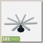 Нижний дистрибьютор 6FLG для 42 бака, вход 3(90мм), диаметр 870 мм, 8 лучей (КНР)