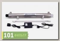 Стерилизатор воды ультрафиолетовый HE-180 (комплект), 0,7м3/ч, ресурс лампы 8/9000ч) (Wonder Light)