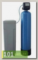 Умягчитель 10x54 (электронный Сlack клапан США по счетчику+ смола Purolite C100Е) в сборе