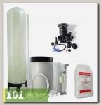 Умягчитель воды 08x17 (0,3-0,5 м3/час, ручной клапан Runxin, смола AlfaSoft) в сборе