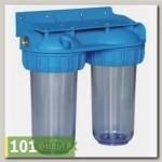 Магистральный фильтр ITA-25-1/2 (прозрачный, 2-е колбы) (ИТА)