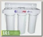 AUS3 Система фильтр. с 3-мя картриджами с водосчетчиком.