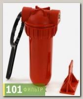 Колба фильтра (фильтр магистральный) AquaKit SL 10 3P H NP 1/2 (г/в, рыжая колба)