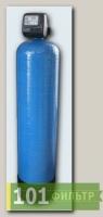 Угольный фильтр 13x54 корпус (электронный клапан Clack CША по счетчику + уголь кокосовый) в сборе