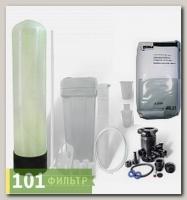Умягчитель воды 10x54 (1,5 м3/час, ручной клапан Runxin, смола Lewatit S1567) в сборе