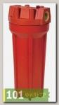 Комплект PS 891O1-О34-PR-BN (колба рыжая, вход 3/4, для гор.воды, картридж), Райфил