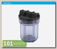Водоочиститель C889-B34PR-BN 5 (прозрачная колба 5, 3-х компанентная, 3/4, картридж), Райфил