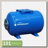 ГМ-100 Г Гидроаккумулятор, 100 л горизонтальный, Аквабрайт