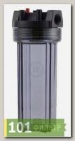 AQF-10-С-12 (10 корпус фильтра, цвет прозрачный, 1/2.)