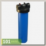 Корпус фильтра B890-BK34PR-BN (колба SL20, синяя, вход 3/4), Райфил