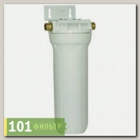 Фильтр Гейзер 1П 1/2 (8) (белая колба, РР5мкм, латунная вставка, скоба, ключ)