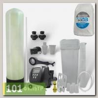 Умягчитель воды 13x54 (2-3 м3/час, клапан автомат Clack, смола FeroSoft B) в сборе