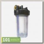 Магистральный фильтр ITA-35 ВВ (колба ВВ10),прозрачный, (ИТА)