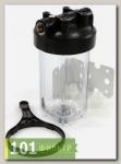 Колба фильтра (фильтр магистральный) AquaKit BB 10 2P TP 1 (прозрачная)