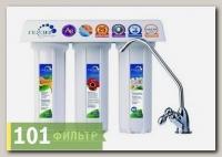 Фильтр Гейзер 3ВК Люкс для жесткой воды (мех + БС + СВС-Ag, кран 1)